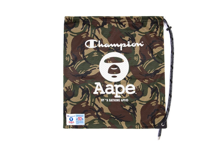 Image of AAPE by A Bathing Ape x Champion 2014 Spring/Summer Collection