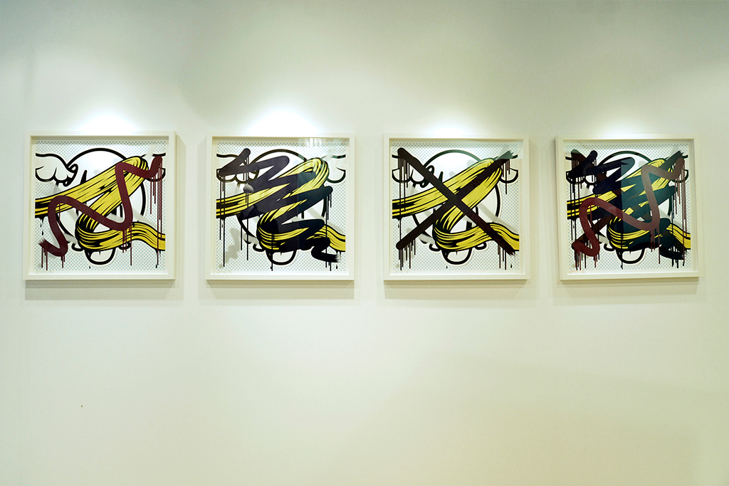 Image of EVISU x D*Face Partner for D*Face's Solo Exhibition in Asia