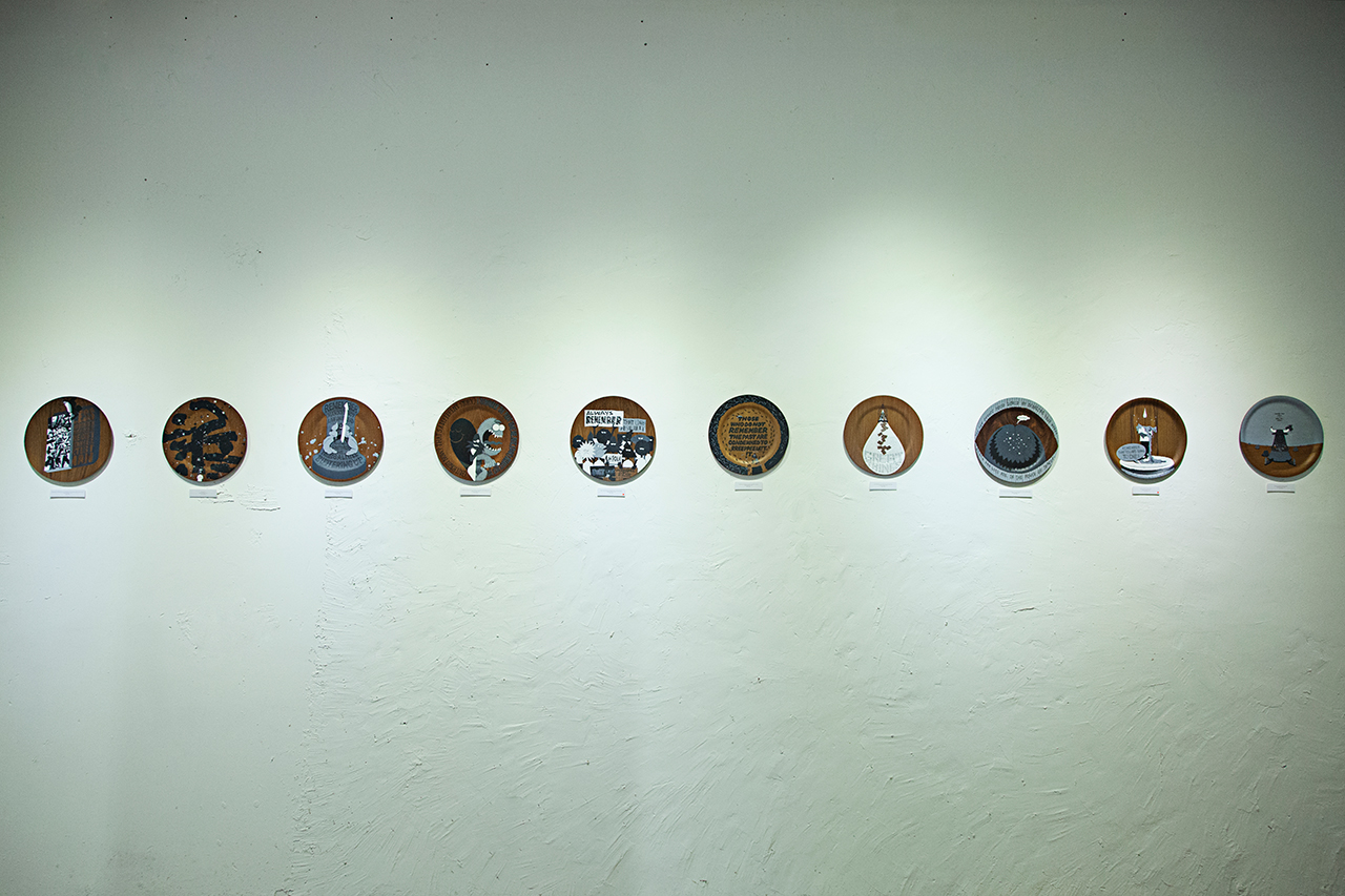 "Image of Michael Lau ""remember-disc · time-table"" @ GUMGUMGUM Recap"
