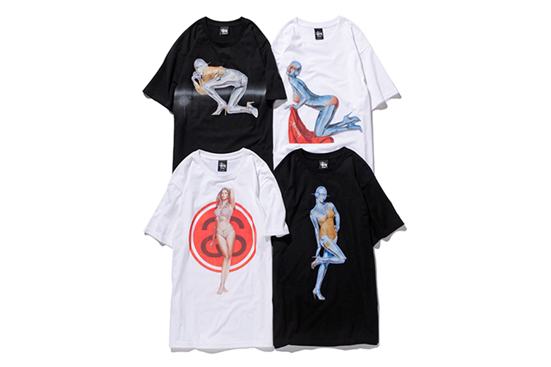 """Image of NANZUKA x Stussy Guest Artist Series """"HAJIME SORAYAMA"""" T-Shirts"""