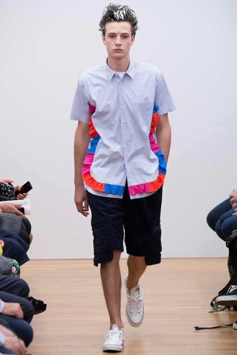 Image of COMME des GARÇONS SHIRT 2015 Spring/Summer Collection