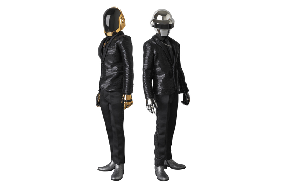 "Image of Daft Punk x Medicom Real Action Heroes ""Random Access Memories"" Figures"