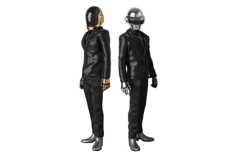 "Image of Daft Punk x Medicom Real Action Heroes ""Random Access Memories"" Figures"
