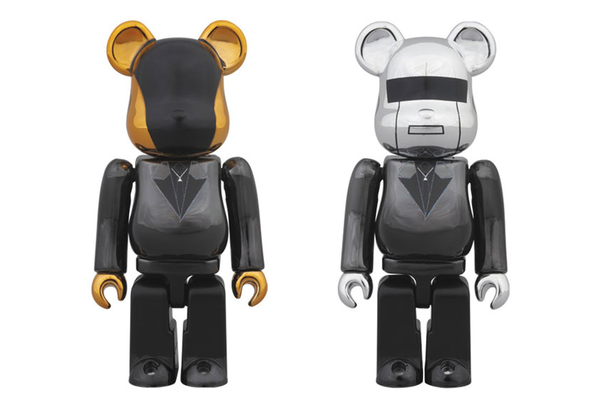 "Image of Daft Punk x Medicom Toy ""Random Access Memories"" Bearbricks"