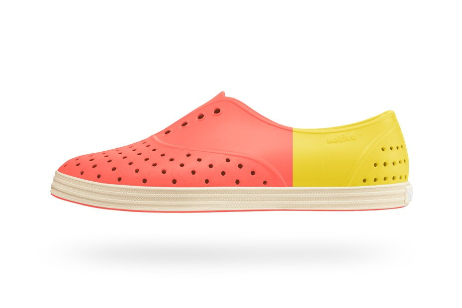 Image of PLEATS PLEASE ISSEY MIYAKE x Native Shoes 2014 Summer Collection