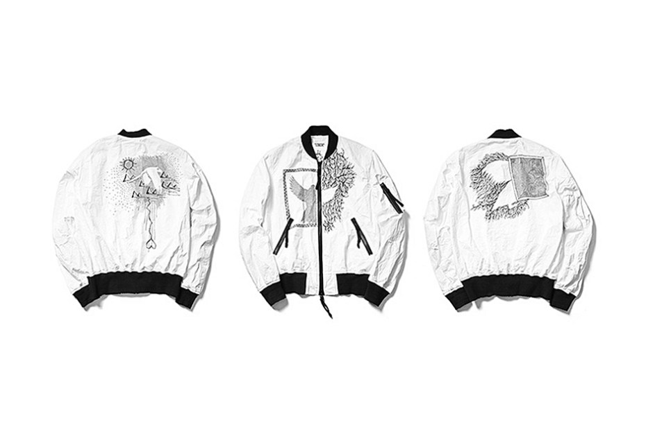 Image of TAKAHIROMIYASHITA TheSoloIst. MA-1 Jacket