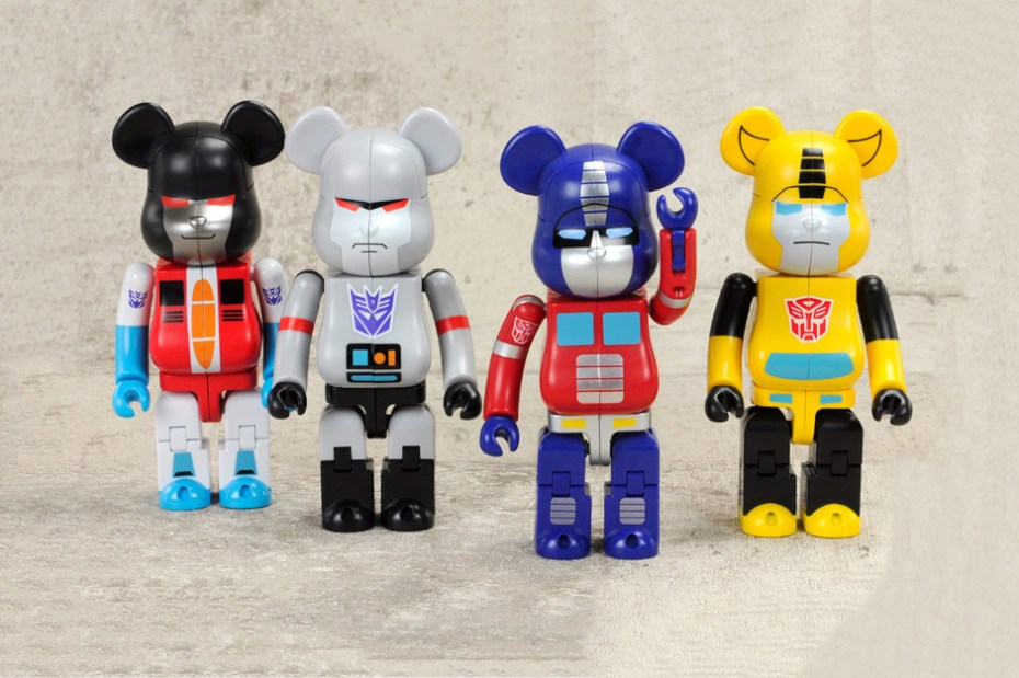 Image of Transformers Medicom Toy Bearbrick Collection