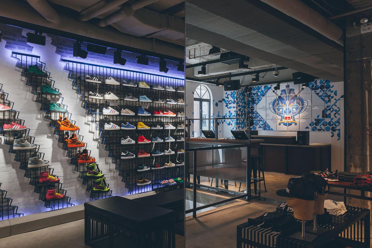 2b53857bc adidas Originals Shanghai Flagship Store Opening