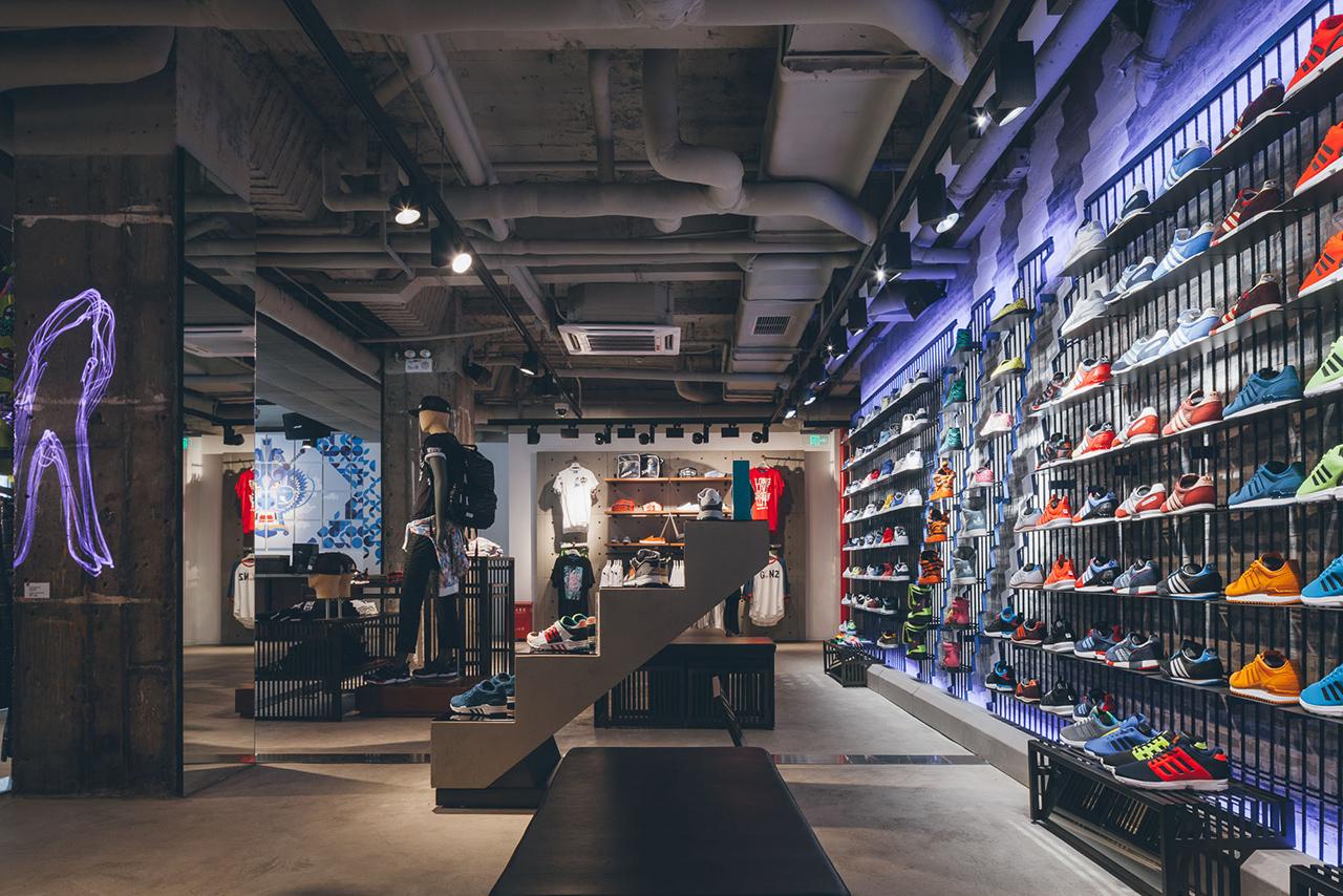 dfed63061 Image of adidas Originals Shanghai Flagship Store Opening