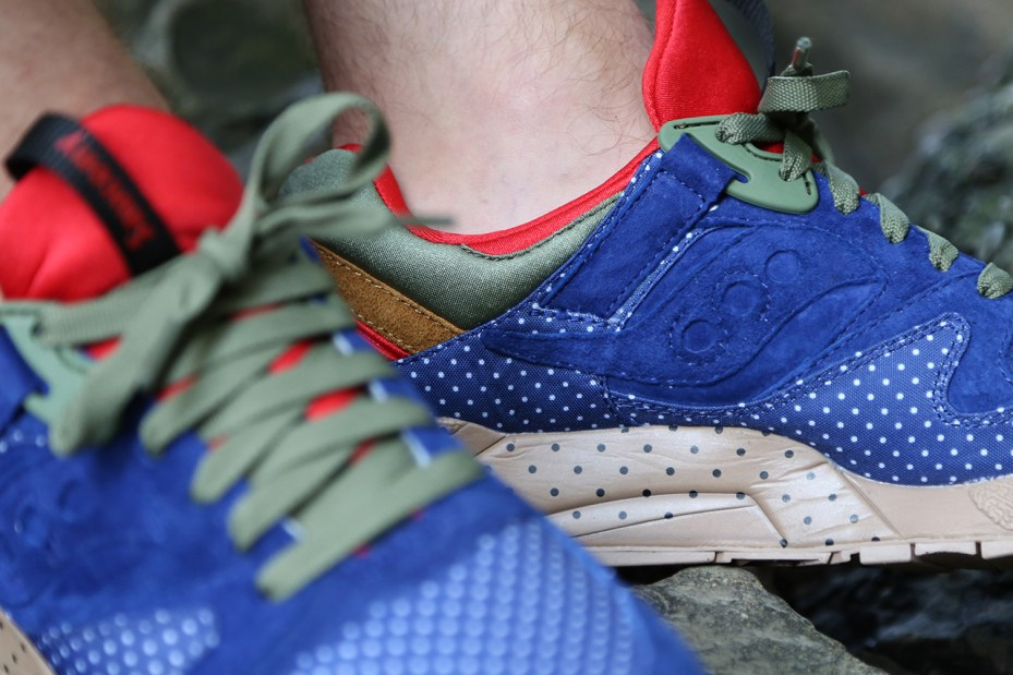 Image of Bodega x Saucony Elite 'Polka Dot' Pack