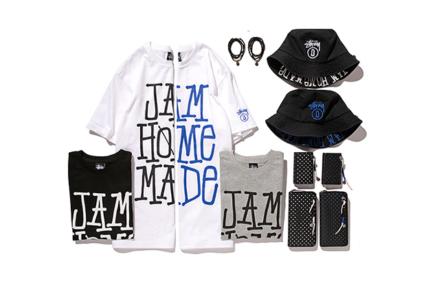 Image of JAM HOME MADE x Stussy Japan 2014 Summer Capsule Collection