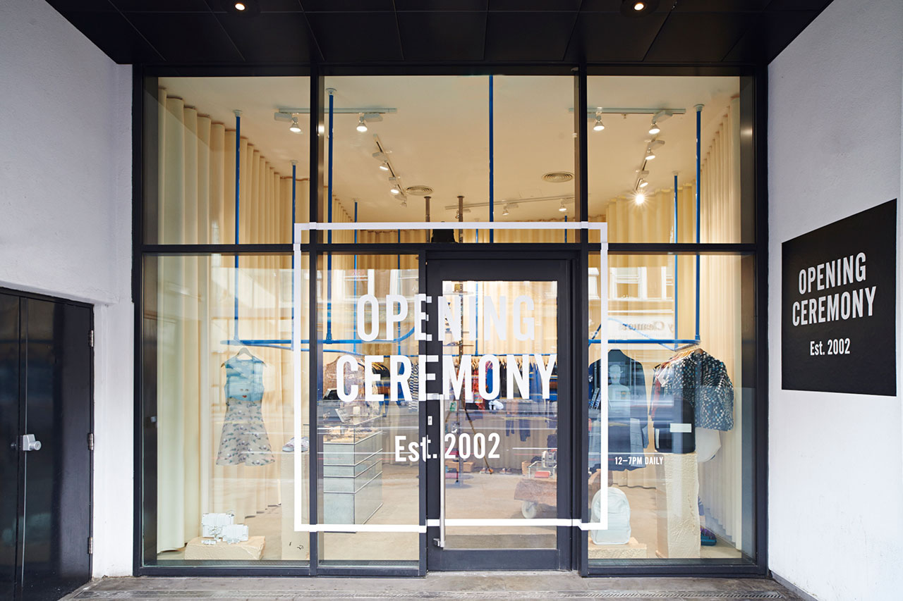 Image of Opening Ceremony Shoreditch Opens in Ace Hotel London