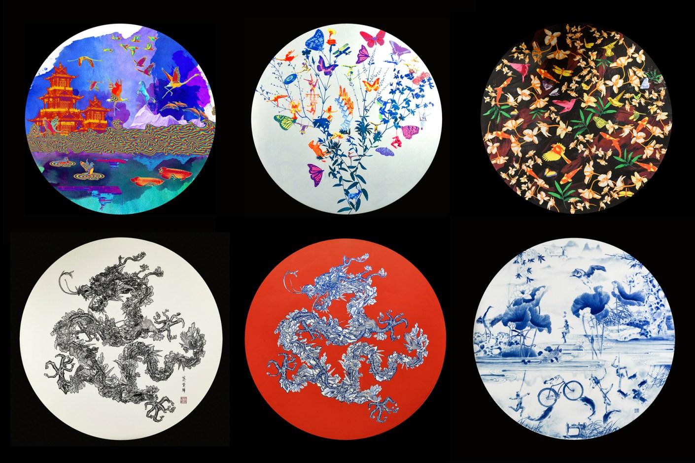 "Image of SHANGHAI TANG: Jacky Tsai Cultivates ""A Garden of Vibrant Dreams"""