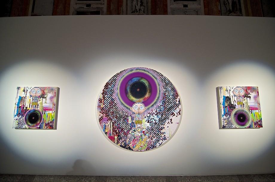 "Image of Takashi Murakami ""Arhat Cycle"" @ Palazzo Reale Recap"
