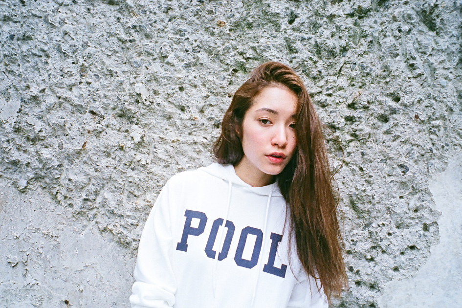 "Image of the POOL aoyama ""SWIM in the POOL"" Editorial"