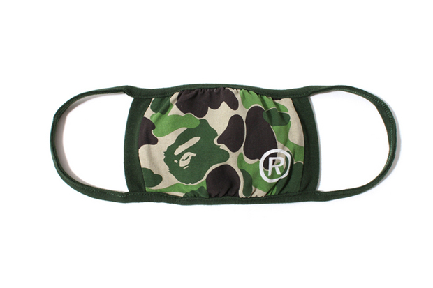 Image of Cut Out Airborne Illness with A Bathing Ape Face Masks