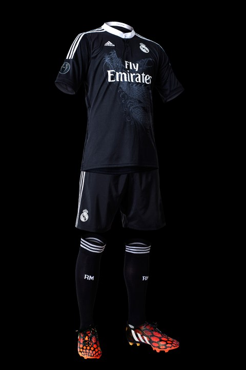 Image of adidas Unveils Real Madrid's 2014/15 Third Kit by Yohji Yamamoto