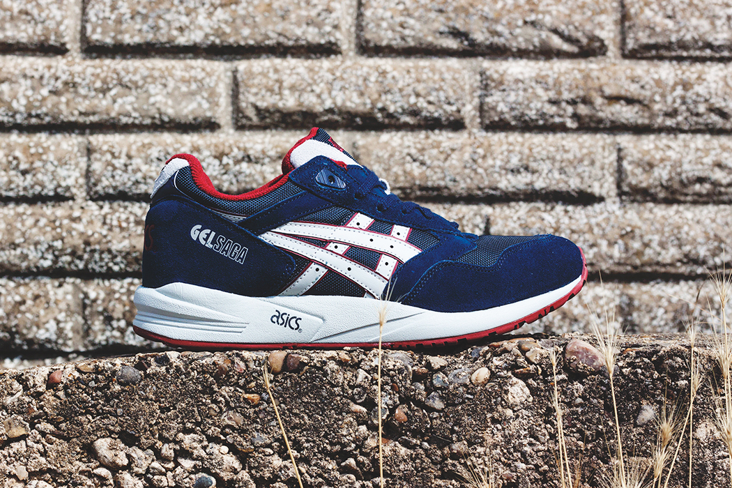 0c7a610977ed ASICS 2014 Fall Gel Saga Navy Soft Grey