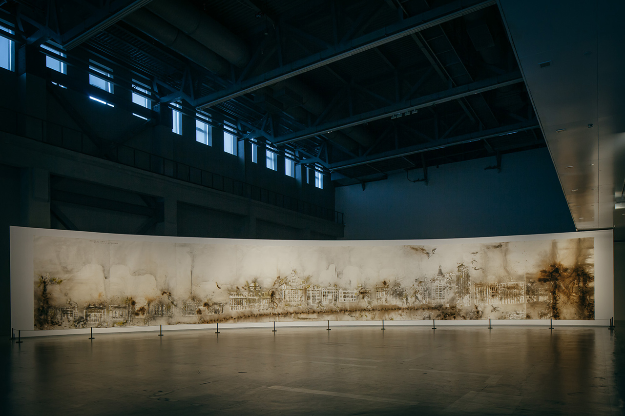 """Image of Cai Guo-Qiang """"The Ninth Wave"""" Exhibition @ Power Station of Art"""