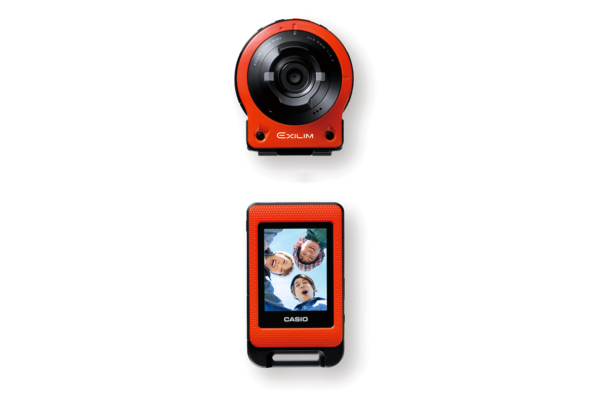 Image of Casio Releases New Detachable Action Camera EX-FR10