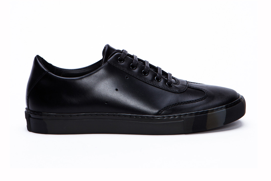 Image of Generic Man for COMME des GARÇONS SHIRT Leather Sneaker