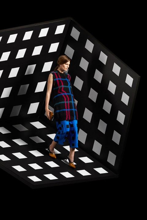 "Image of KENZO 2014 Fall/Winter ""Neon"" Editorial by Laetitia Hotte"