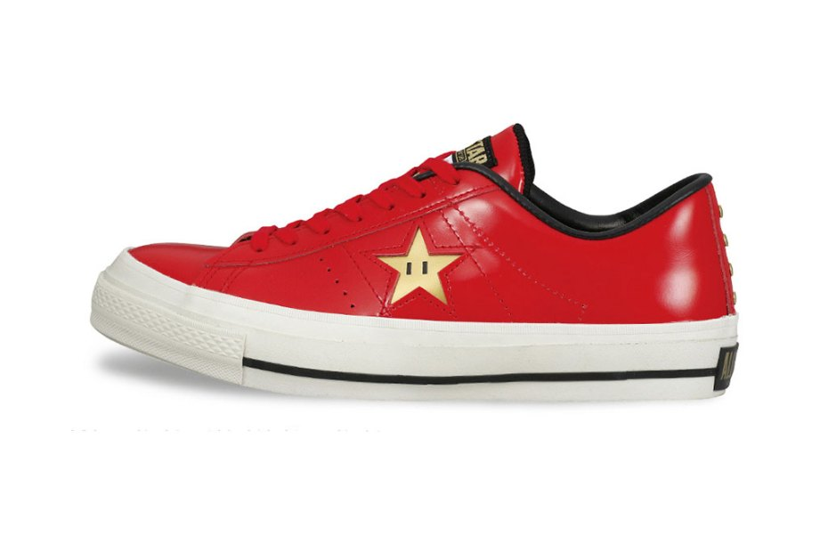 Image of Nintendo Super Mario Bros. x Converse Japan One Star 40th Anniversary Pack