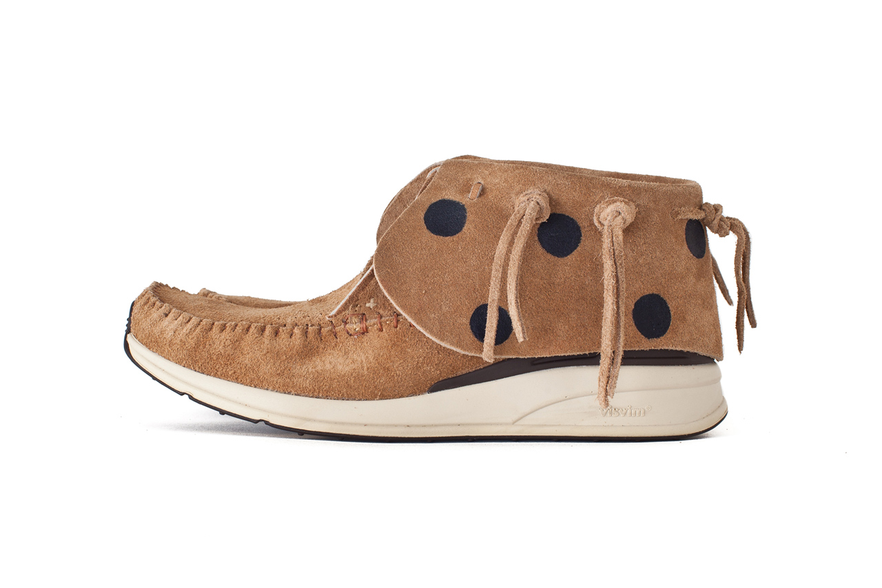 Image of visvim FBT JP HAND PAINT CUSTOM *Dover Street Market London Exclusive
