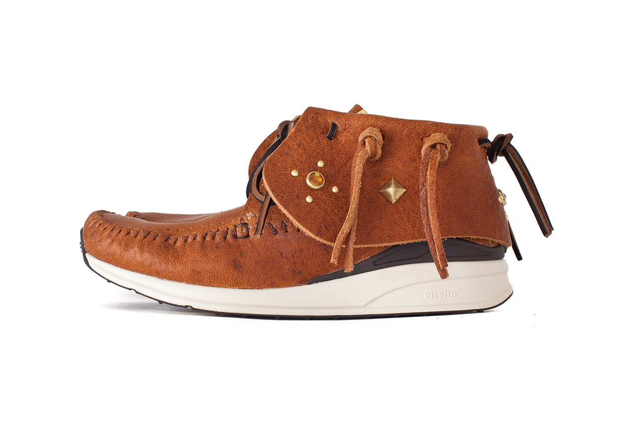 Image of visvim FBT RENO JP STUDS CUSTOM *Dover Street Market London Exclusive