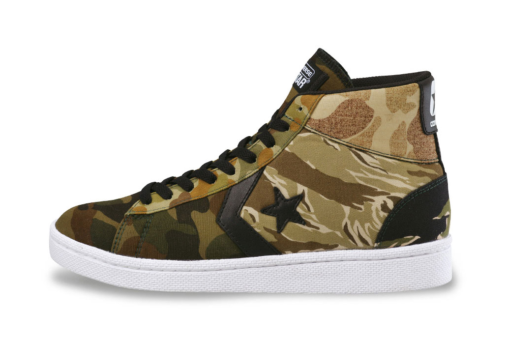 "Image of XLARGE x Converse Japan 2014 Fall ""Multicamo"" Pack"