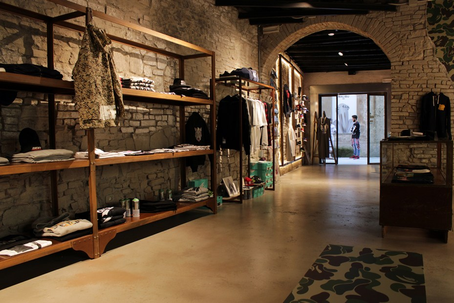 Image of A Bathing Ape Opens Its Another Official Dealer Store in Italy