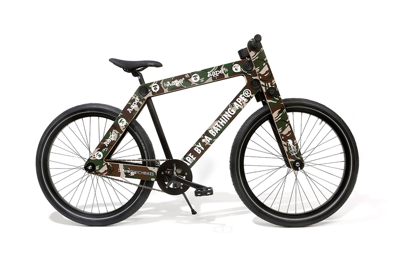 Image of Bike The Moment x AAPE by A Bathing Ape 2014 Capsule Collection