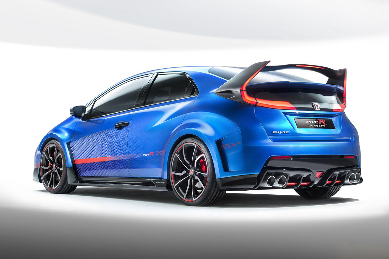 Image of Honda Unveils the Civic Type R Concept II