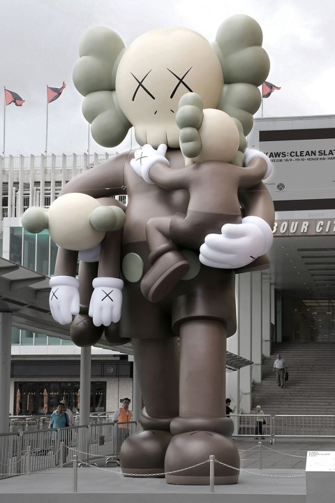 "Image of KAWS ""CLEAN SLATE"" Exhibition @ Harbour City Hong Kong"