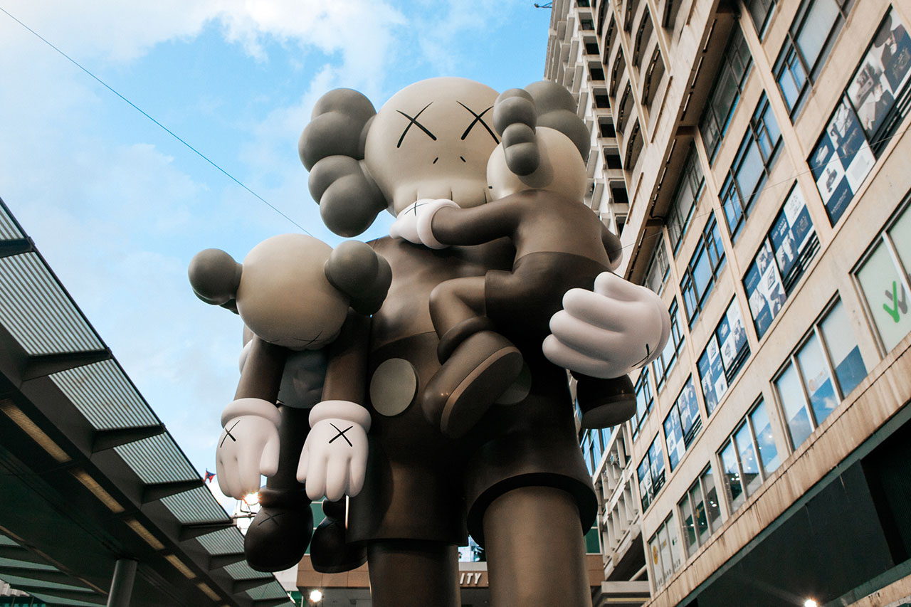 "Image of KAWS ""CLEAN SLATE"" Exhibition @ Harbour City Hong Kong Recap"