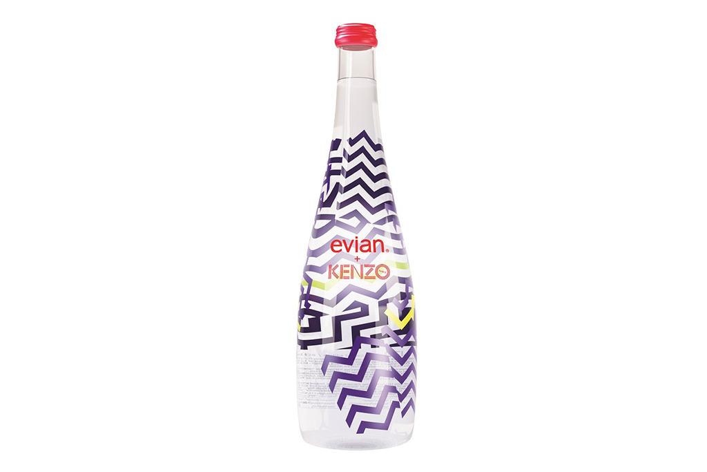Image of KENZO x Evian Limited-Edition Bottles
