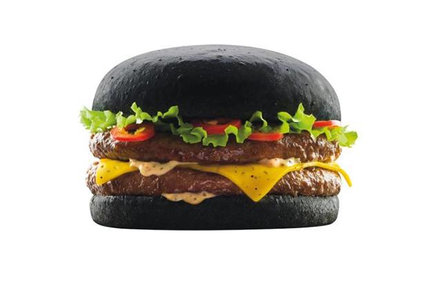Image of McDonald's Jumps on the Black Burger Bandwagon in Japan After Burger King