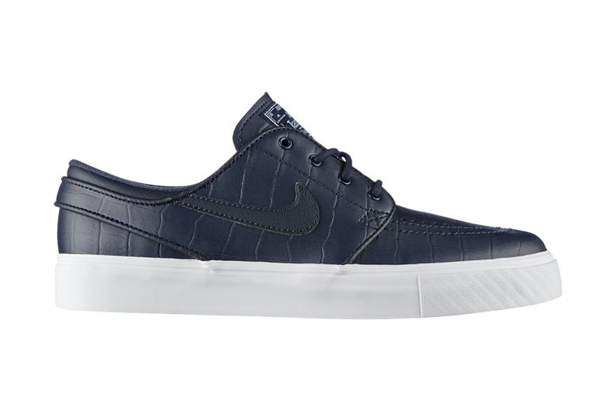 """brand new b59ad 6f737 Nike SB Zoom Stefan Janoski Leather QS """"Blue Croc"""""""