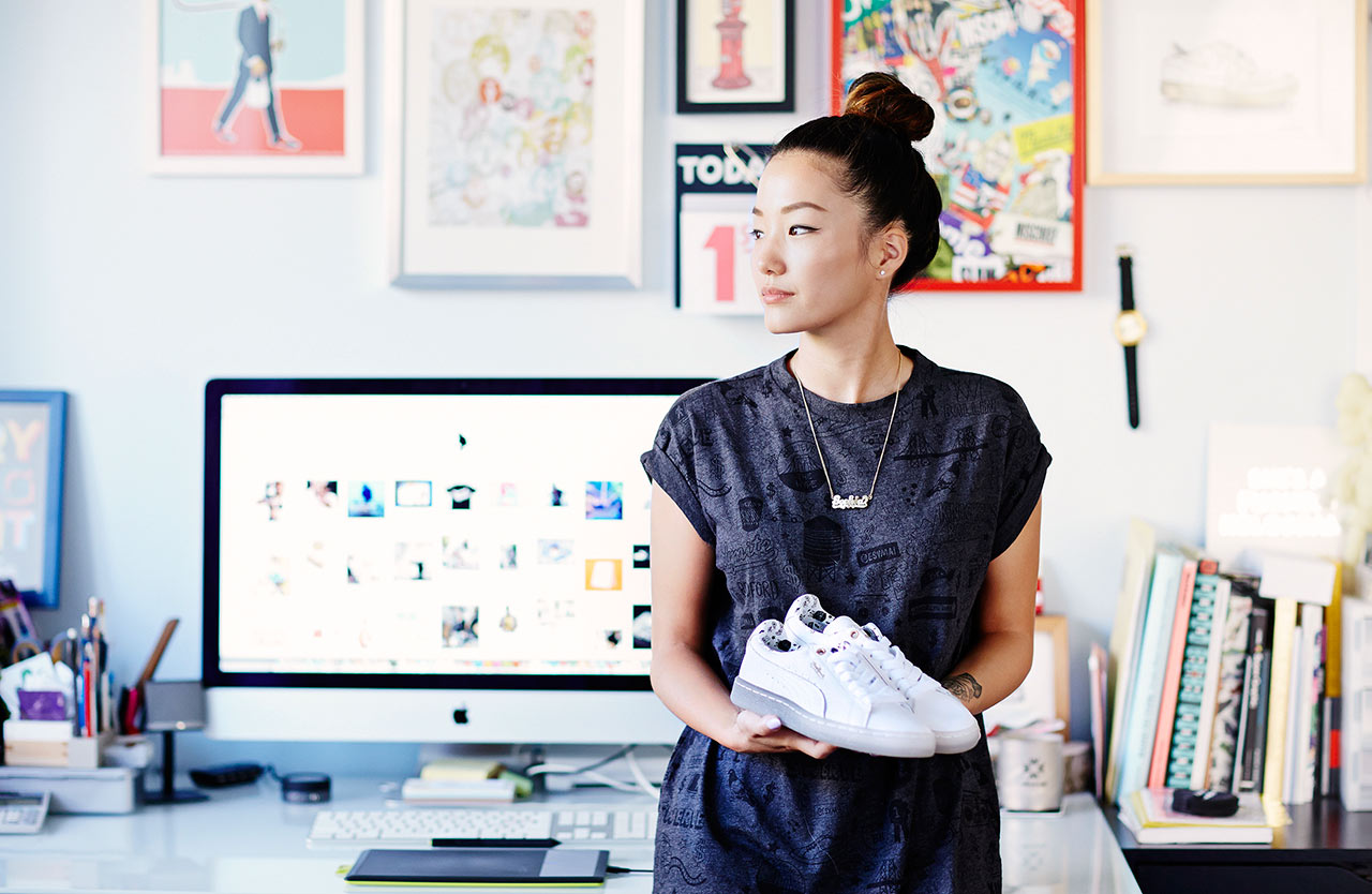 Image of Sophia Chang Talks Illustration, Women in Sneakers, and Her PUMA Collection