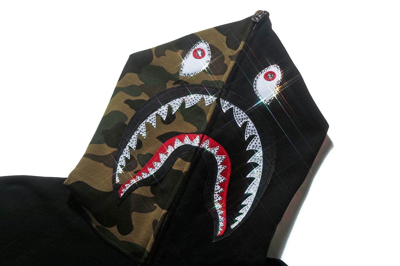 A Bathing Ape Shark Hoodie 10th Anniversary Collection