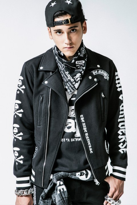 32aaa7c22dd Image of AAPE by A Bathing Ape 2014 Fall Lookbook
