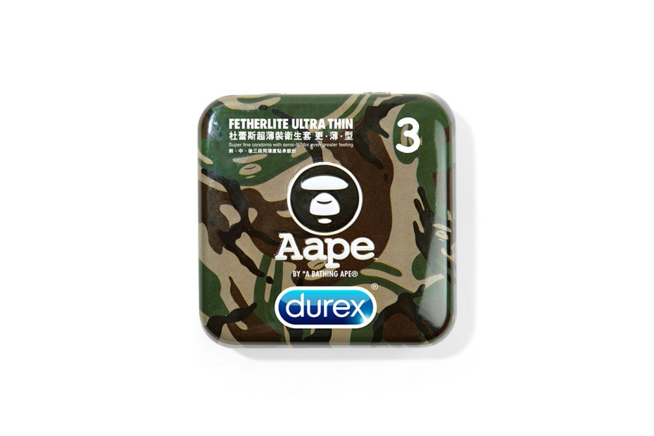 Image of Durex x AAPE by A Bathing Ape Cases