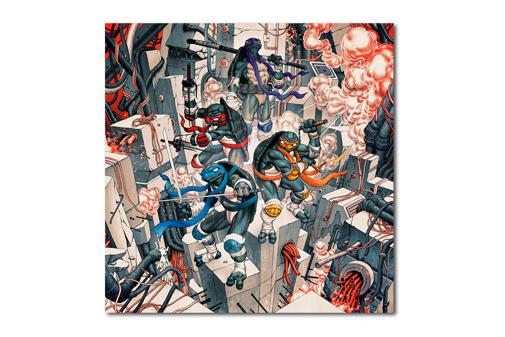 Image of James Jean x Teenage Mutant Ninja Turtles Collaboration