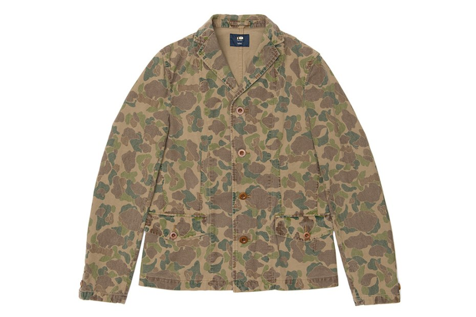Image of kolor BEACON Dover Street Market Ginza Exclusive Camo Outerwear Collection