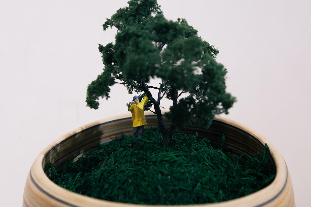 "Image of Makoto Ishiwata ""CORE"" Exhibition by Subcrew Recap"