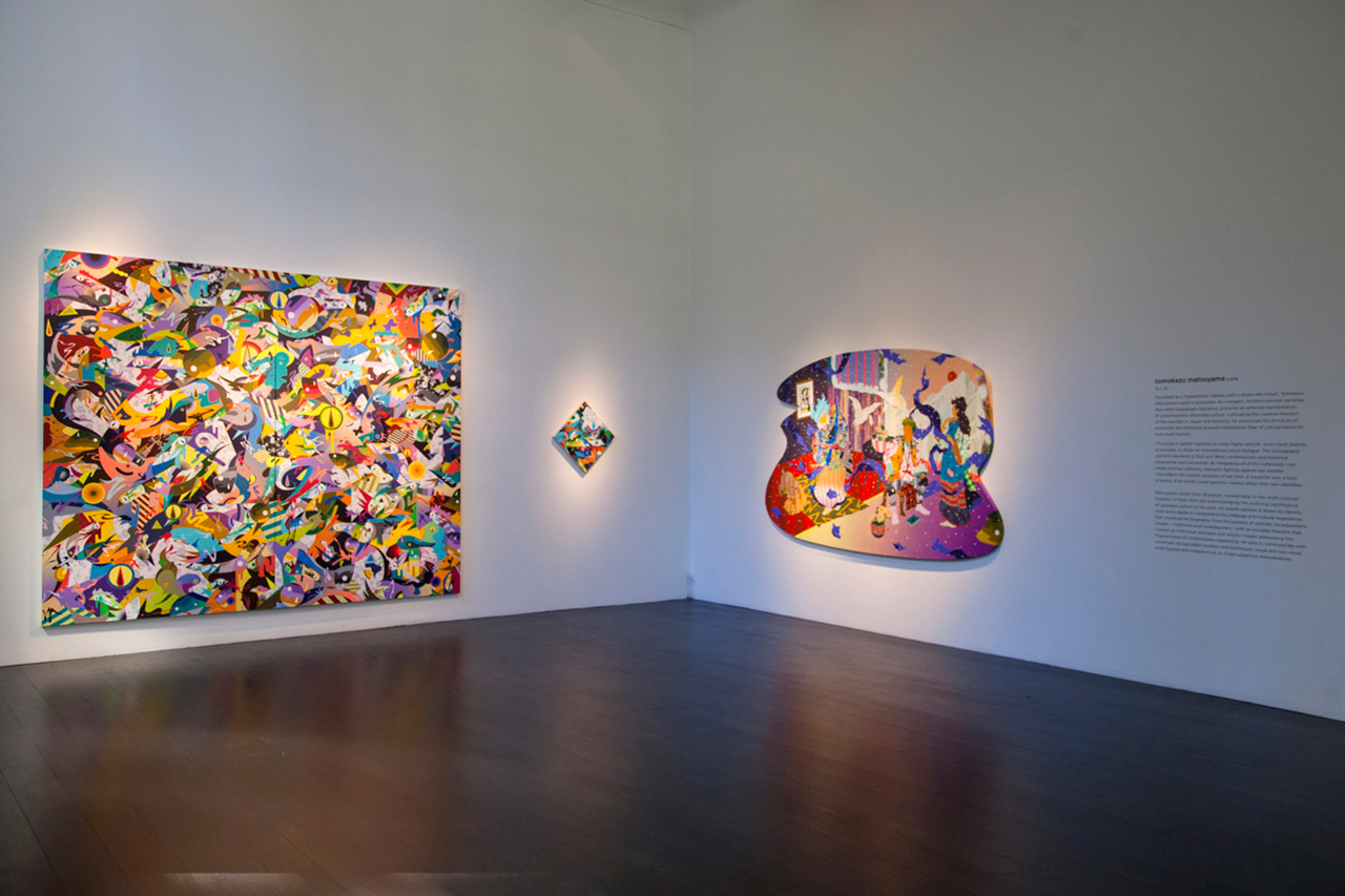 """Image of Matzu """"Outside Looking In"""" Exhibition @ Lesley Kehoe Galleries"""