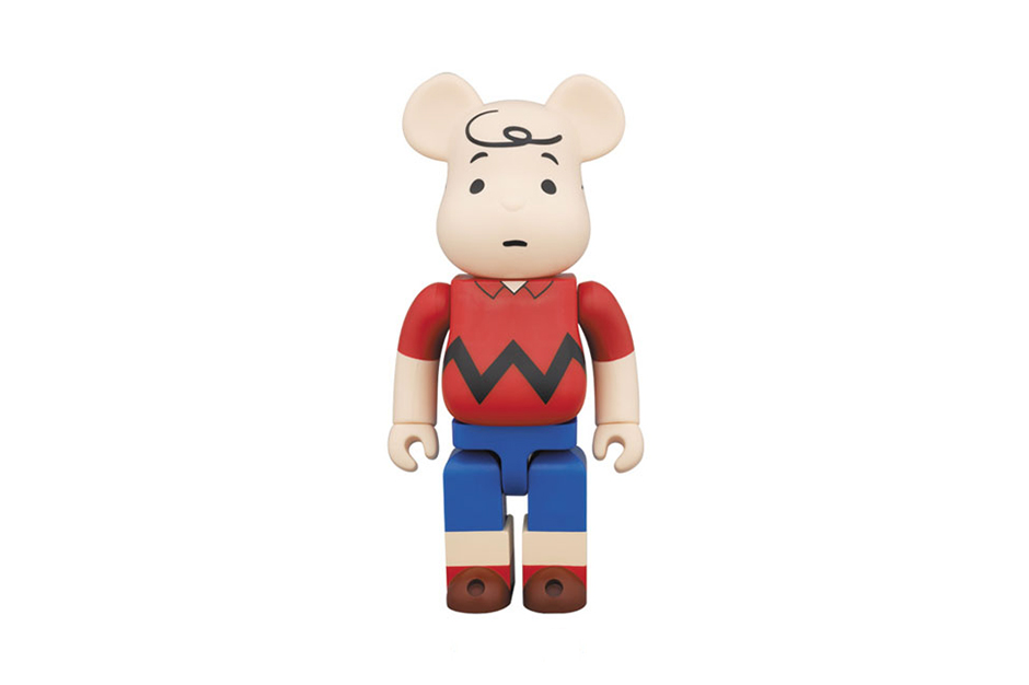 Image of Peanuts x Medicom Toy 400% Charlie Brown Bearbrick
