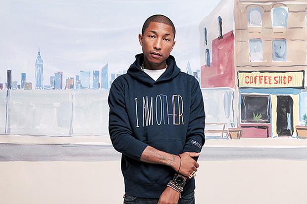 "Image of Pharrell Williams x Uniqlo UT 2014 Fall/Winter ""i am OTHER"" Lookbook"