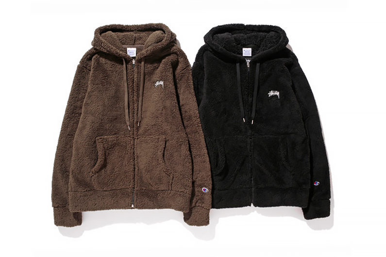 Image of Stussy x Champion Japan 2014 Fall/Winter Fleece Collection