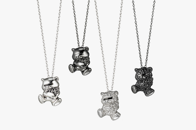 Image of UNDERCOVER × Justin Davis Bear Necklace